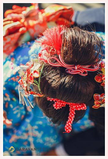 七五三 髪形:日本髪