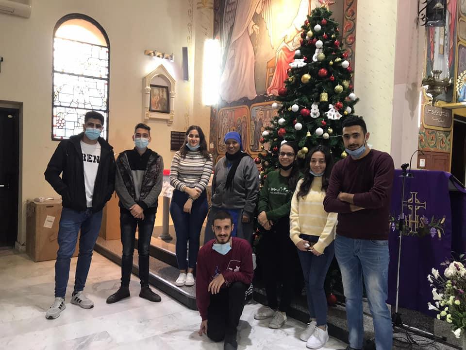 Preparando la Iglesia para la Navidad en Gaza