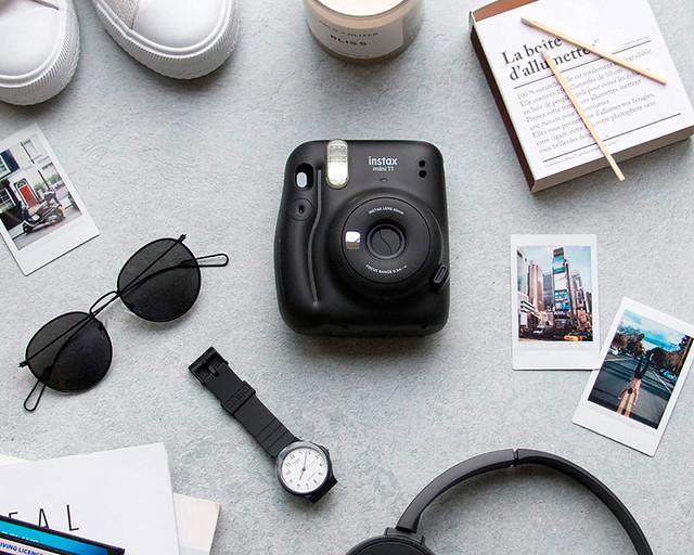 Cámara de fotos instantánea para viajar