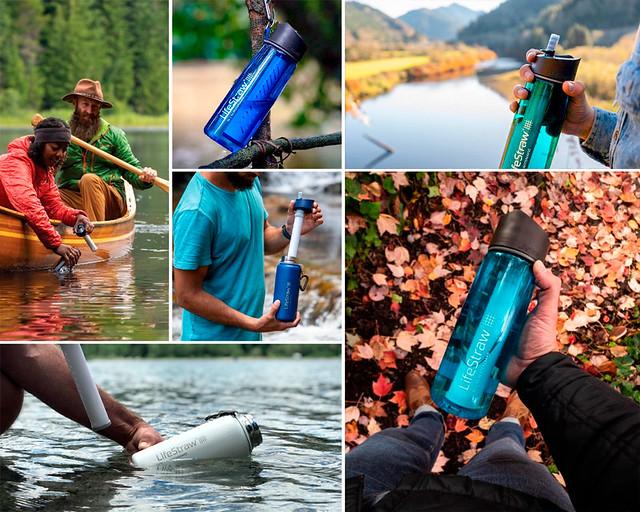 Filtro de agua para viajar
