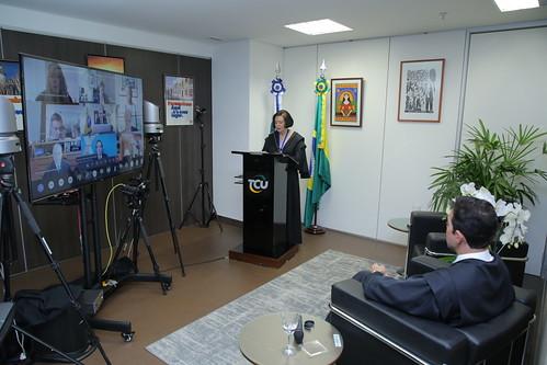 Solenidade Posse da Ministra Ana Arraes na Presidência do TCU