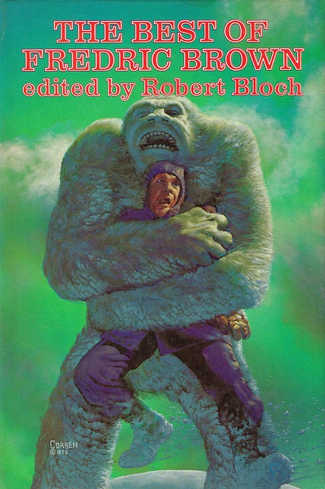 Richard Corben - The Best of Fredric Brown edited by Robert Bloch, 1976