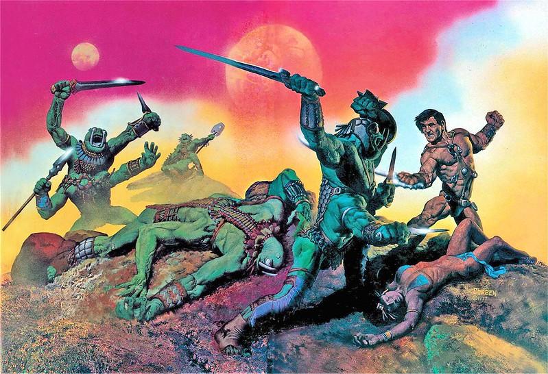 Richard Corben - John Carter of Mars