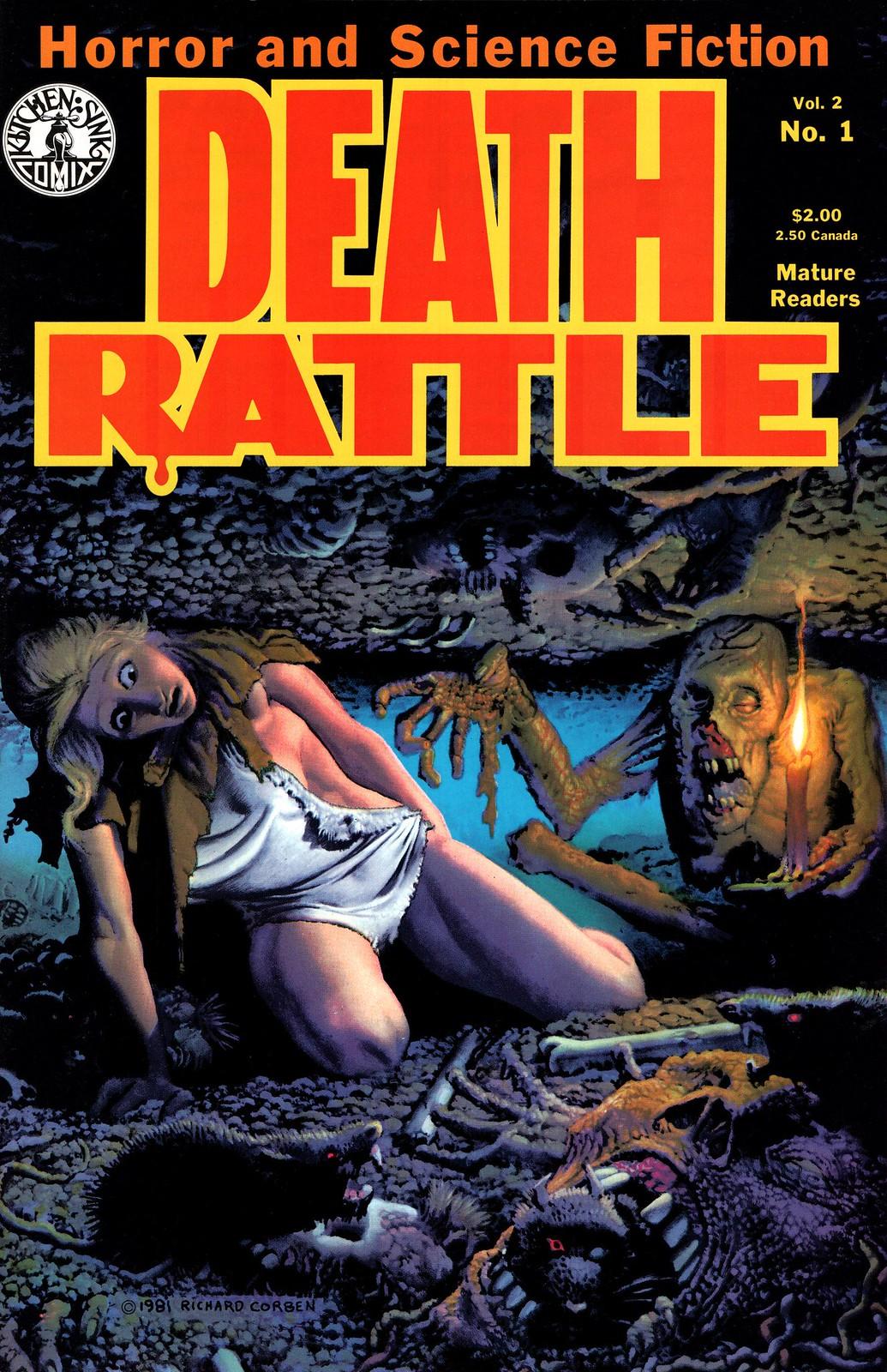 Richard Corben - Death Rattle v2#1 (Kitchen Sink, 1985)