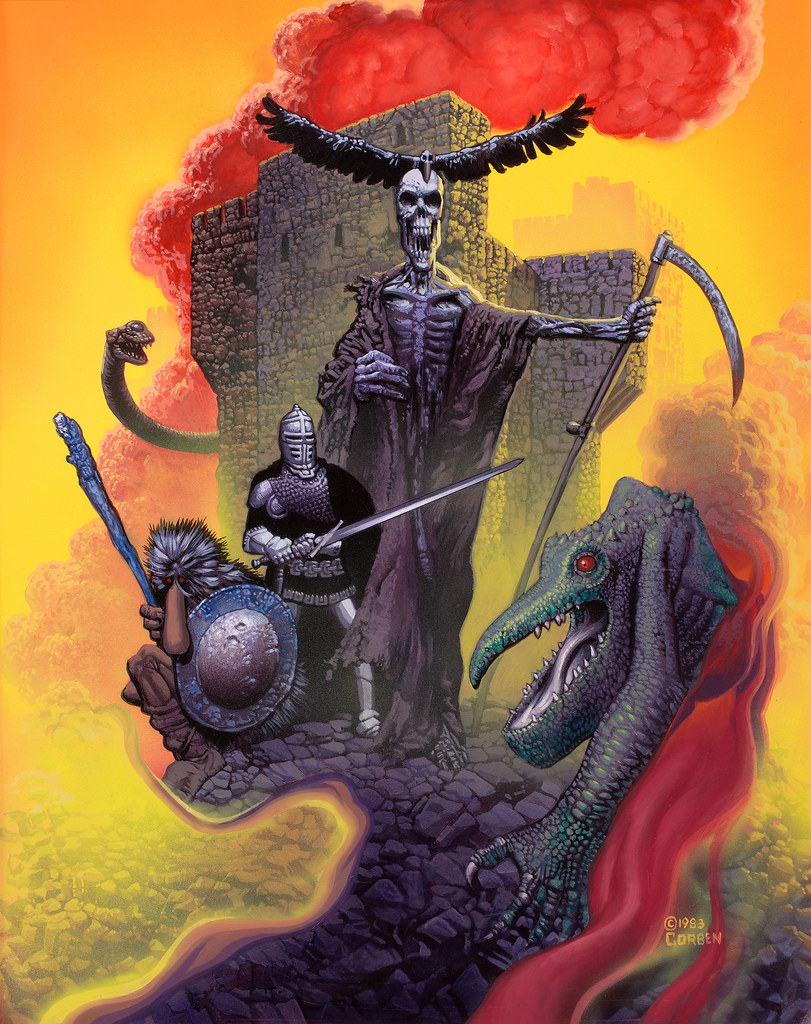Richard Corben - City of Thieves, paperback cover, 1983