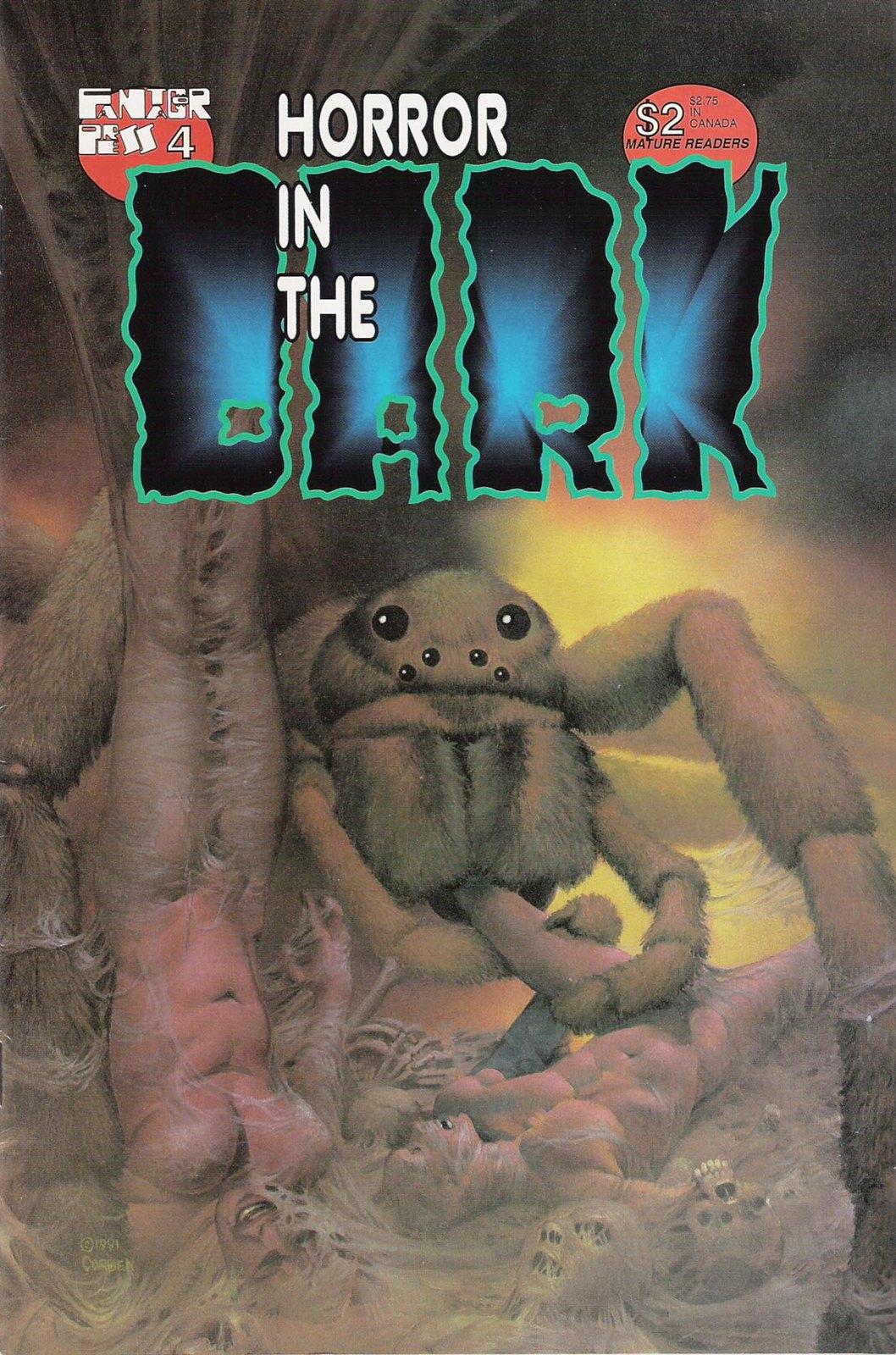 Richard Corben - Horror in the Dark #4, 1991