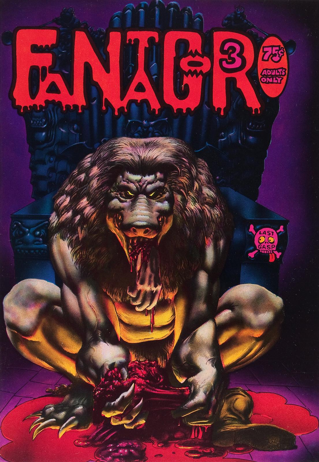 Richard Corben - Fantagor #3 (Last Gasp, 1972)