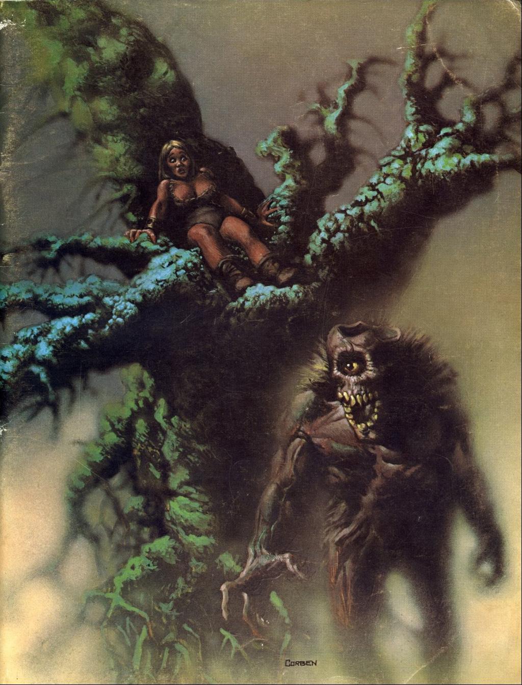 Richard Corben - Eerie Magazine Illustration, 1971