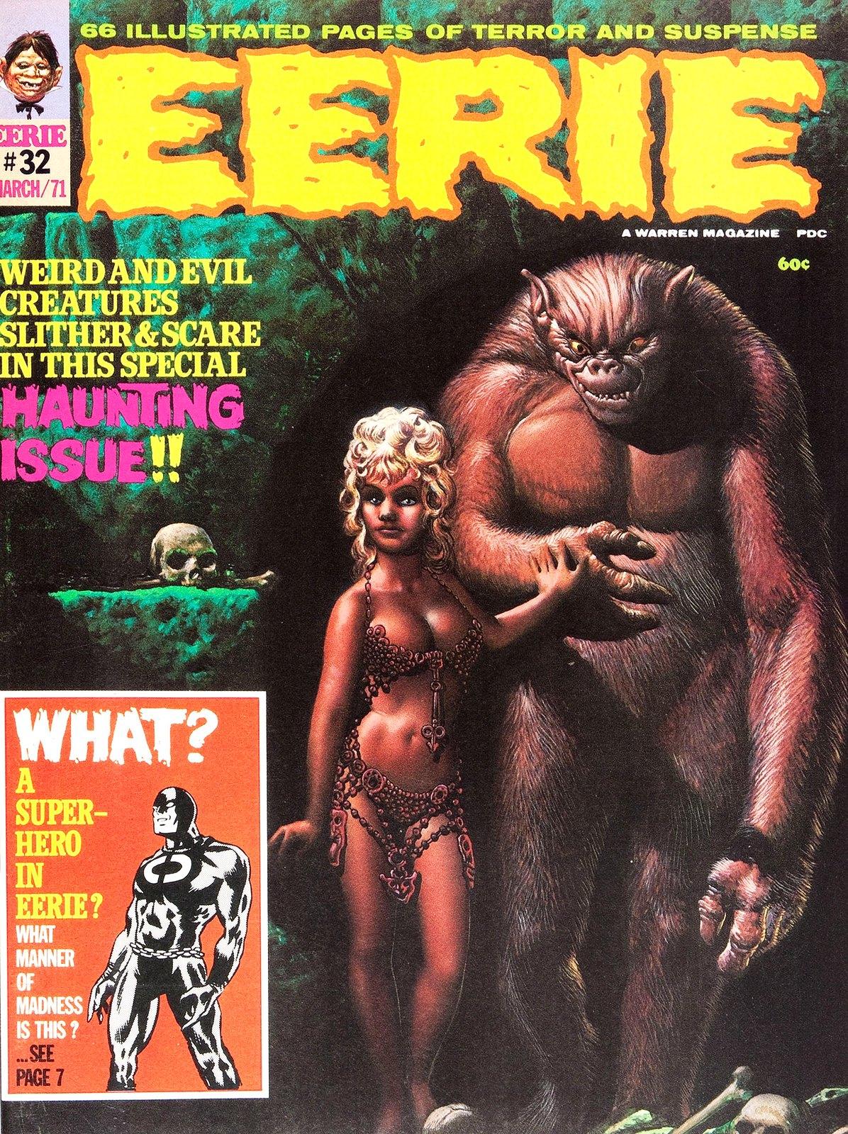 Richard Corben - Eerie #32 Cover, March 1971