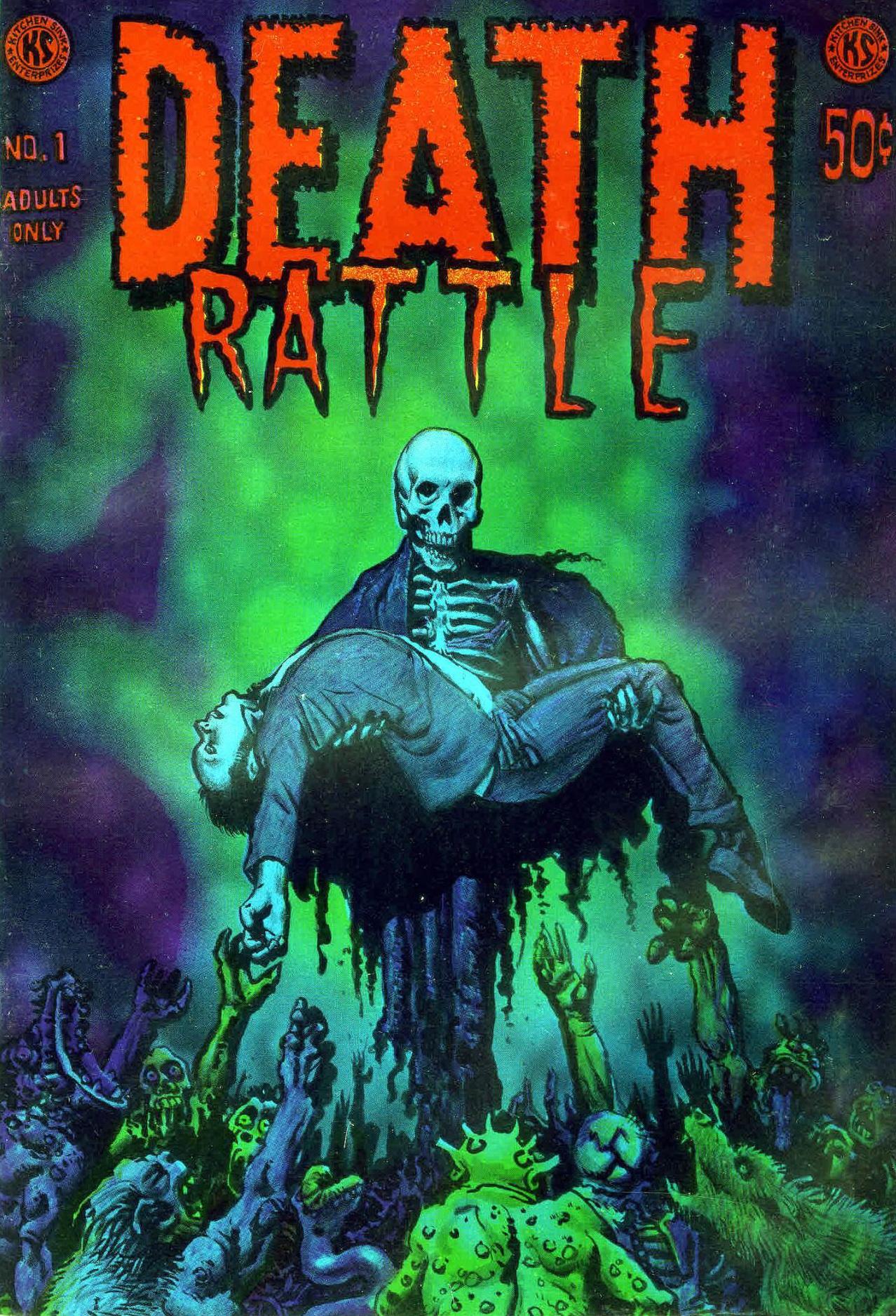 Richard Corben - Death Rattle #1, (Kitchen Sink Press, 1972)