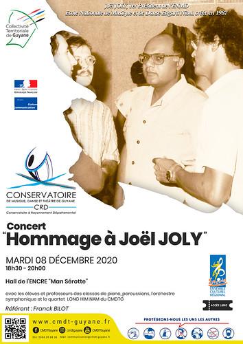 "Concert ""Hommage à Joël JOLY"" - (08/12/2020)"
