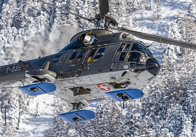 SMV/LSZS: SwissAirForce / Eurocopter AS 532 UL Cougar / T-339
