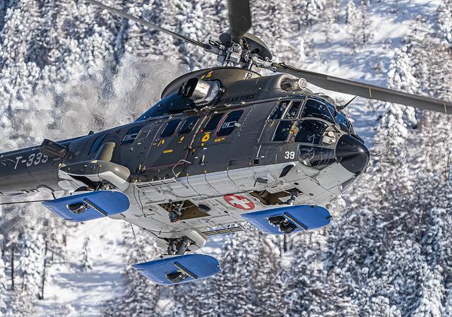 SMV/LSZS: SwissAirForce / Eurocopter AS 532 UL Cougar / T-339
