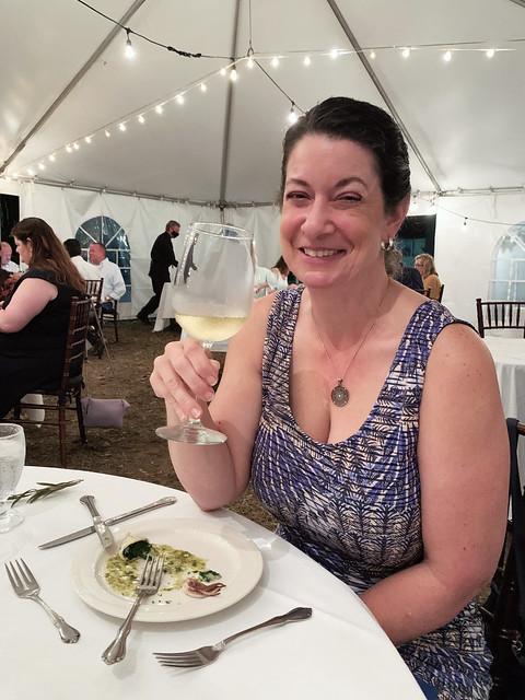 Pensacola 2020, Skopelos Greek Dinner, cheers
