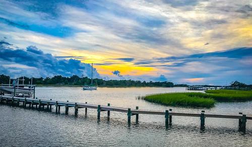 marc714 clouds sunset beaufort nc