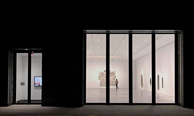 Light Panels (inside) - Chelsea Gallery District, New York City