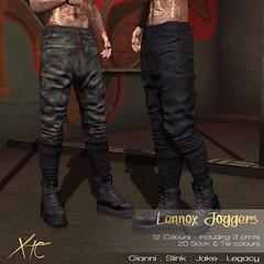 Lennox Jogger Pants. @Jail Event