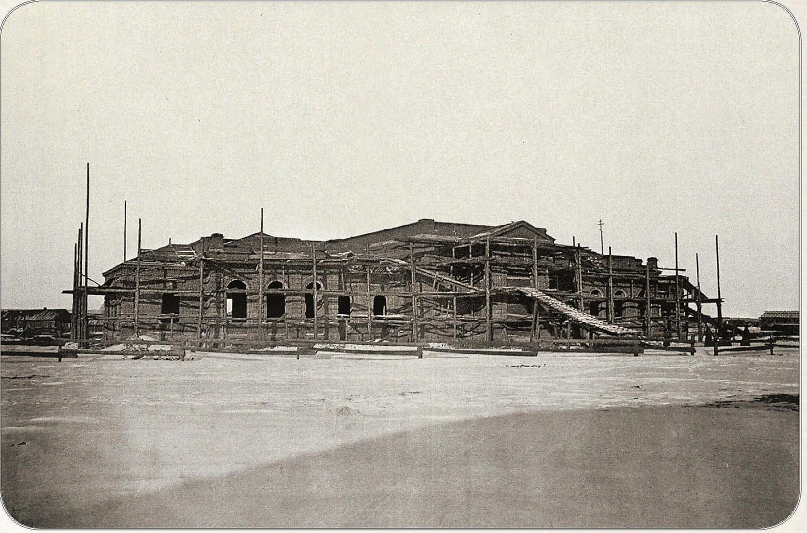 14. Строительство Сызрано-Вяземского вокзала