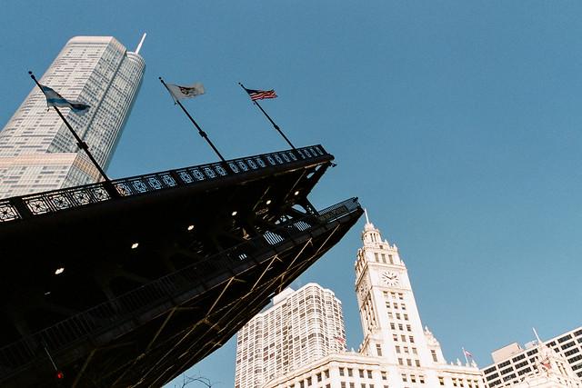Chicago River Bridge Lift