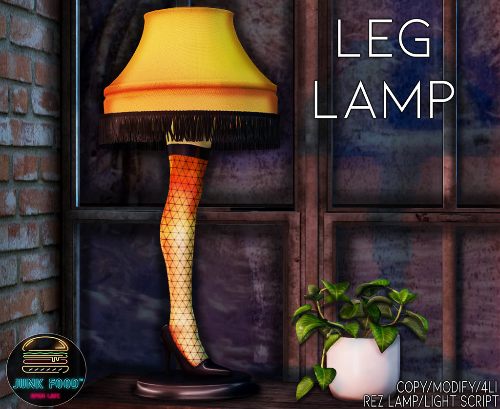 Junk Food – Leg Lamp Ad