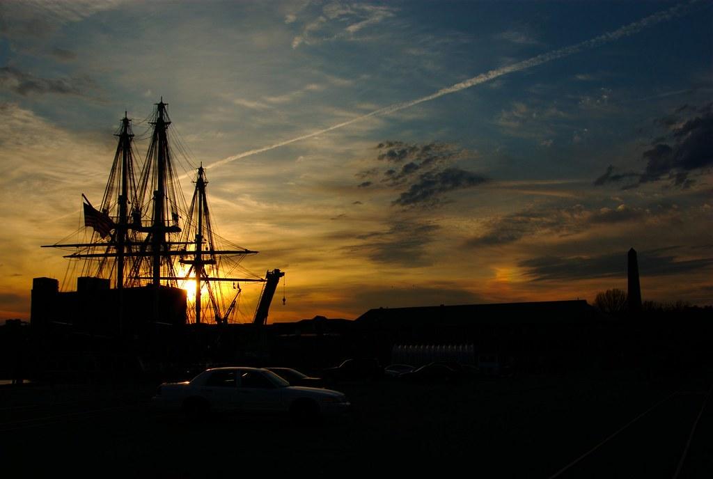 Sunset at Charlestown