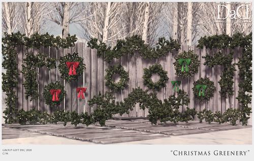 Christmas Greenery - Group Gift