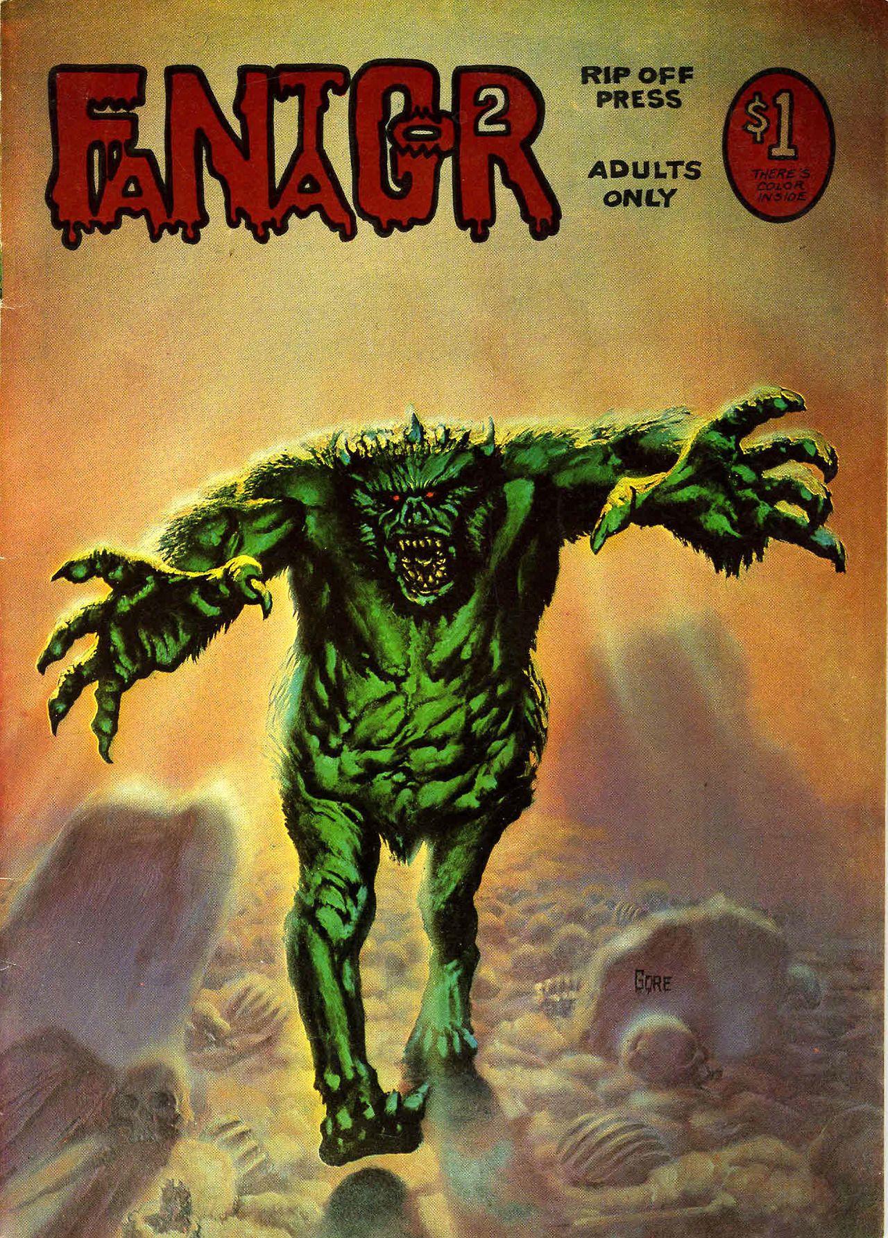 Richard Corben - Fantagor #2 (Rip Off Press, 1972)