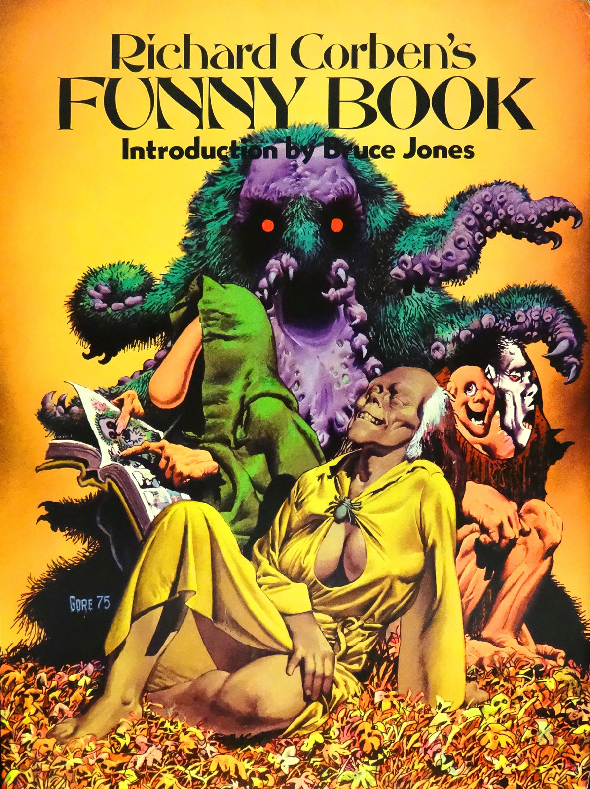 """Richard Corben's Funny Book."" Kansas City: Nickelodeon Press, 1976."