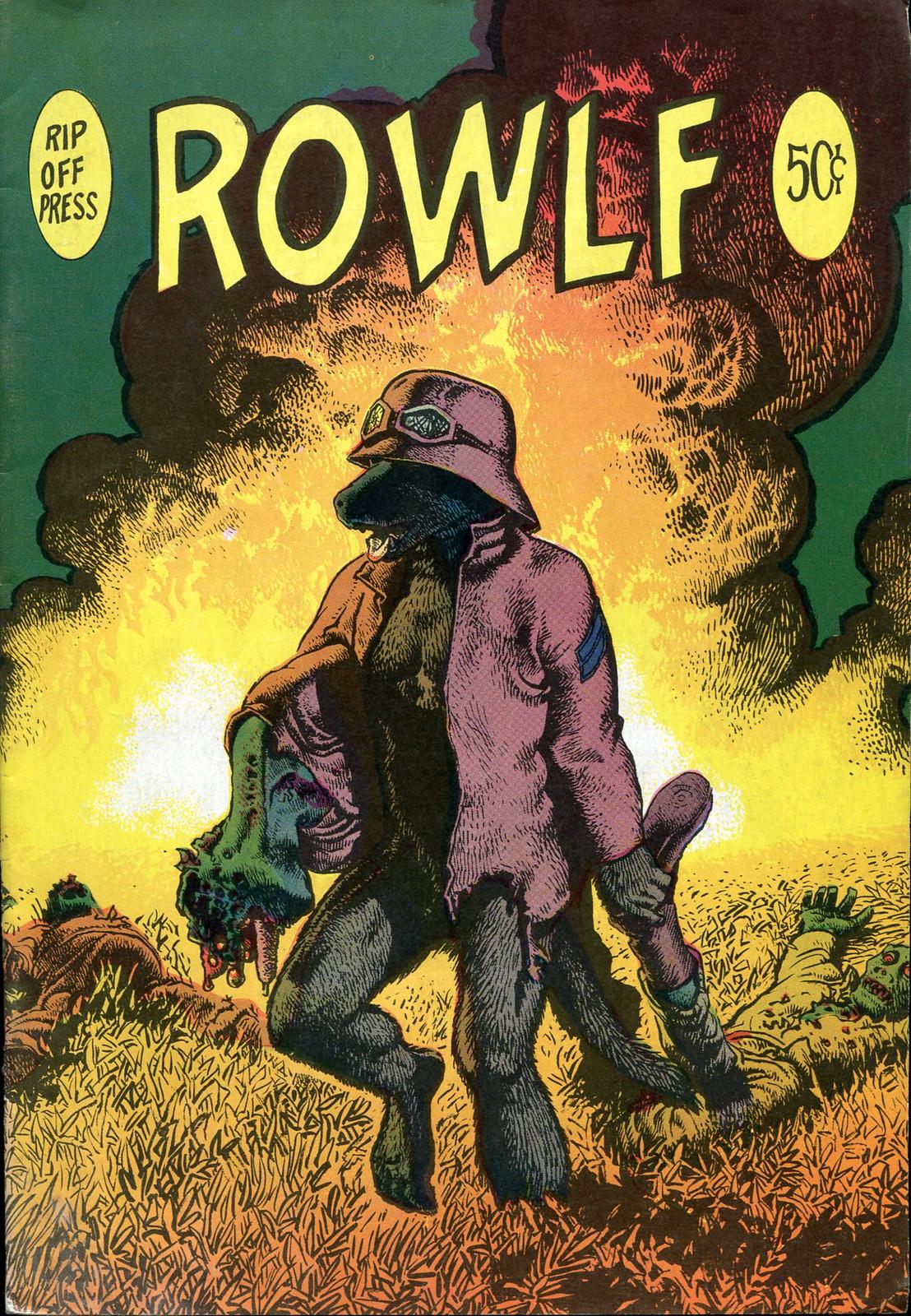 Richard Corben -  Rowlf (Rip Off Press, 1971)