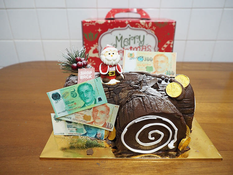 ShopBack Christmas Cashback Cake