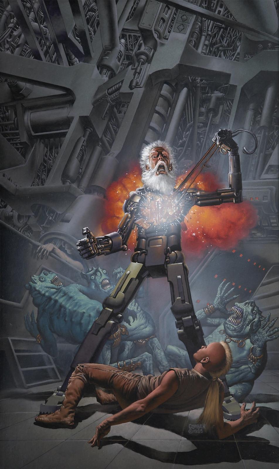 Richard Corben - Warchild, paperback cover, 1986