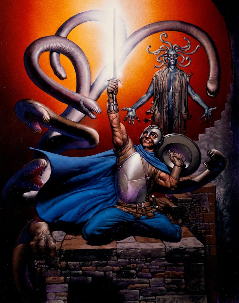 "Richard Corben - Magic Sword"", 1983"
