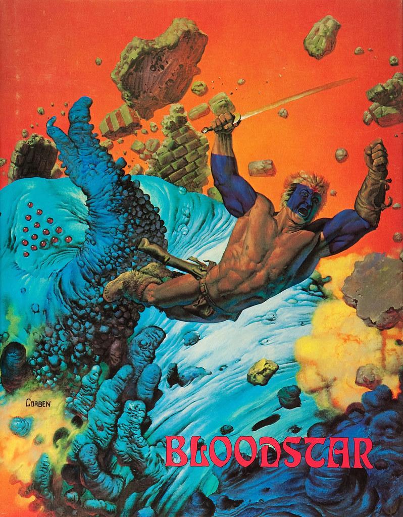 "Richard Corben - Illustration for Robert E. Howard's ""Bloodstar"" (Morning Star Press Ltd., 1976)"