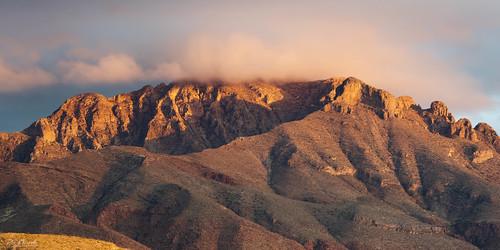 franklinmountains elpaso texas desert southwest landscape clouds shadows goldenhour sonya7riii sonyfe100400mmf4556gmoss oblong