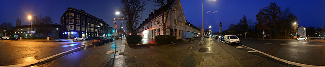 Munich - Suburb Blue Hour