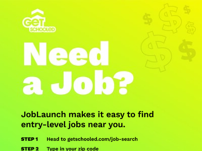 Thumbnail preview of JobLaunch Jobs Poster