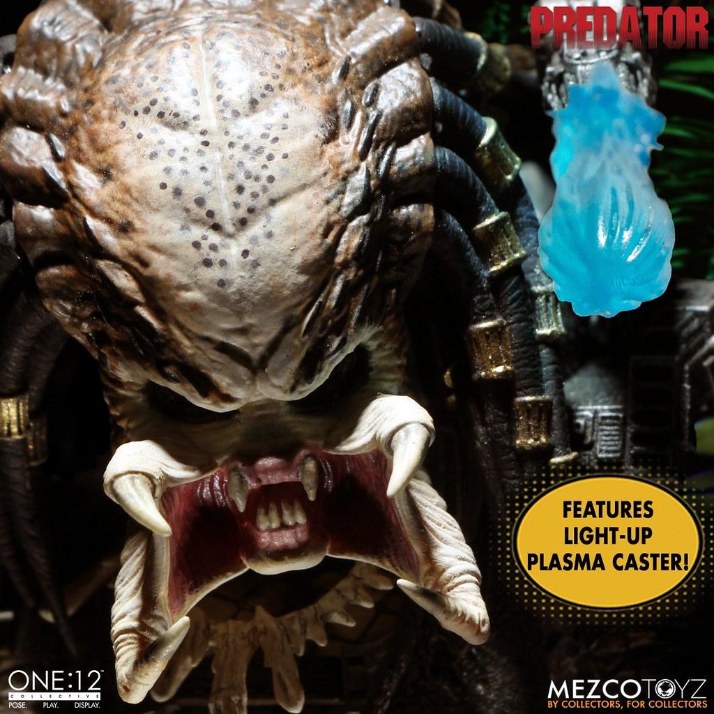 MEZCO TOYZ ONE:12 COLLECTIVE系列《終極戰士》終極戰士 - 豪華版 可動人偶!
