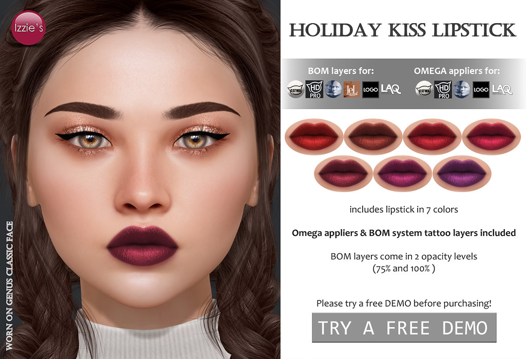 Holiday Kiss Lipstick (for FLF)