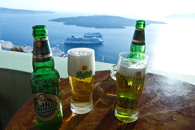 Armchair Traveling - Drinking Local in Santorini