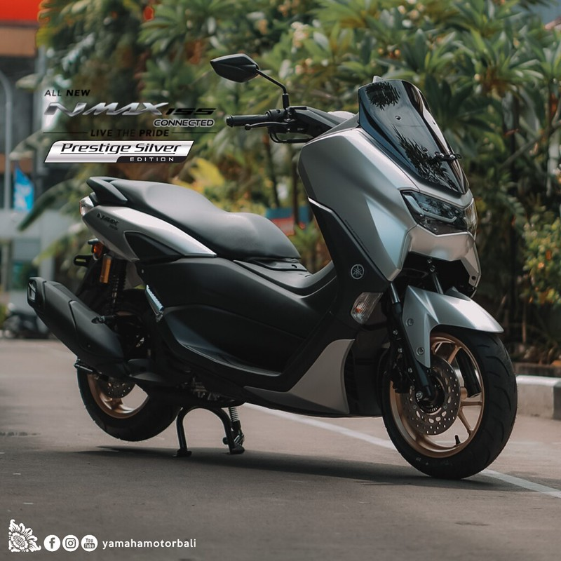 All New NMax 155 Silver