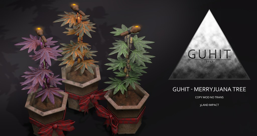 GUHIT – MerryJuana Tree @ Winter Spirit Dec 12