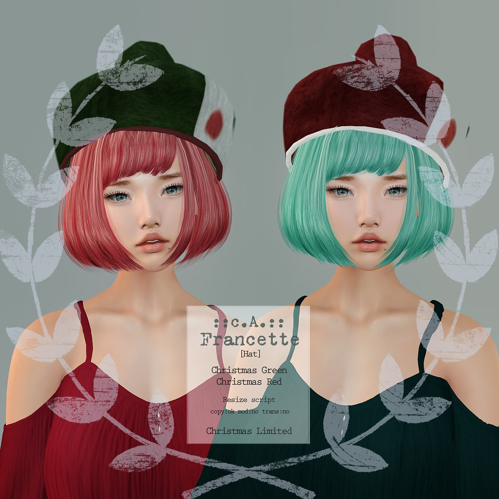::c.A.:: Francette [Hat] Christmas Limited