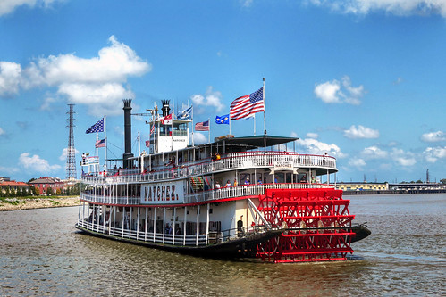 Steamboat Natchez. New Orleans.