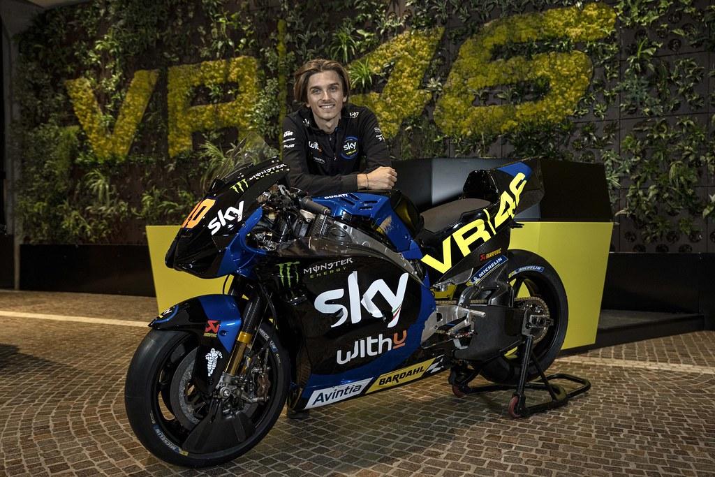Sky MotoGP Livery