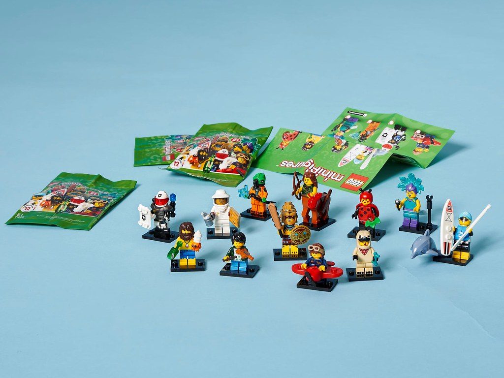 LEGO 71029「樂高人偶抽抽包第二十一彈」完整發表!LEGO Collectible Minifigures Series 21