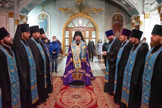 Престольный праздник в Знаменском кафедральном соборе 10.12.2020
