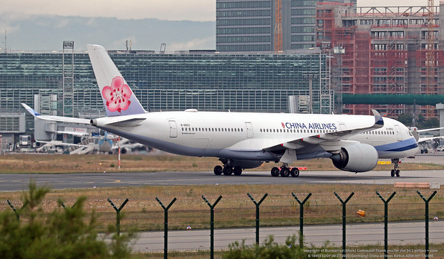 B-18903 EDDF 09-07-2020 (Germany) China Airlines Airbus A350-941 CN 066