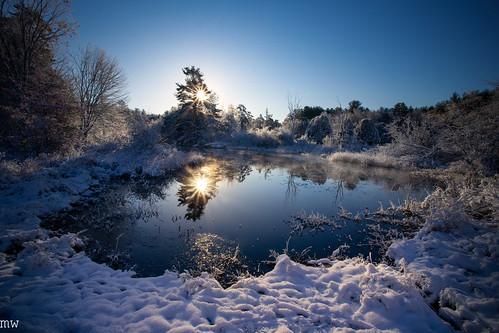 great brook farm winter massachusetts new england nature hiking landscape snow