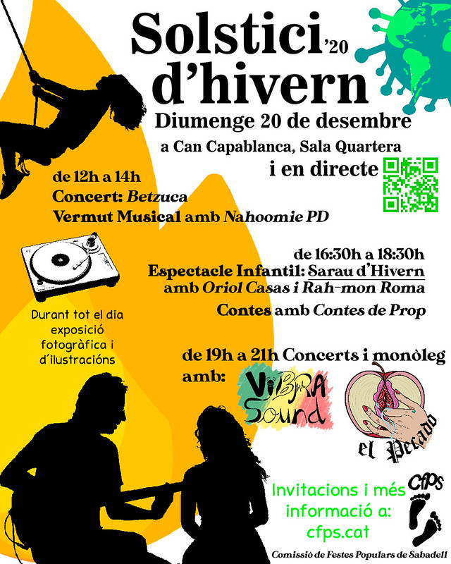 Cartell Solstici Hivern 2020 - CFPS