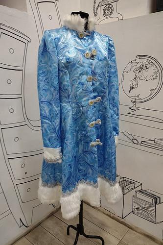 Женский карнавальный костюм Костюм Снегурочки